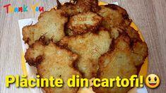 Plăcintă din cartofi răzuiți cu usturoi și cașcaval - Reteta culinara video Muffin, Pie, Breakfast, Youtube, Desserts, Food, Torte, Morning Coffee, Tailgate Desserts