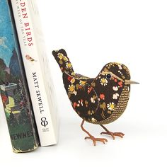 Love these fabric birds made by The Cotton Potter on Folksy!