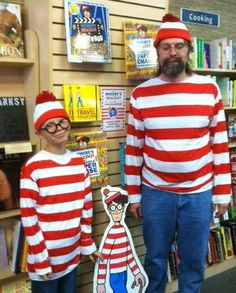 Our fearless leader and his progeny showing their true stripes.