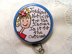 I Love Nursing Swarovski Crystal Name Tag Id Badge Holder