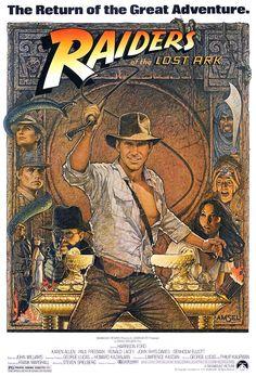 Raiders Of The Lost Ark directed by Steven Spielberg #film #adventure