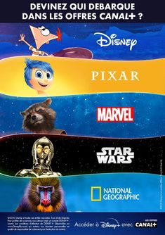 ACCEDER A DISNEY+ AVEC LES OFFRES CANAL+ Canal Plus, Entertaining, Disney, Funny, Entertainment
