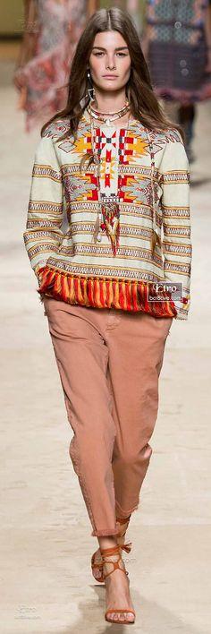 Etro Spring 2015-16 RTW – High Fashion / Ethnic & Oriental / Carpet & Kilim & Tiles & Prints & Embroidery Inspiration /