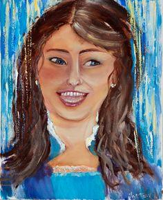 Daenerys Targaryen, Game Of Thrones Characters, Painting, Fictional Characters, Art, Art Background, Painting Art, Kunst, Paintings