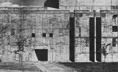 Cultural Centre, Hirosaki, Japan, 1964 (Kunio Mayekawa)
