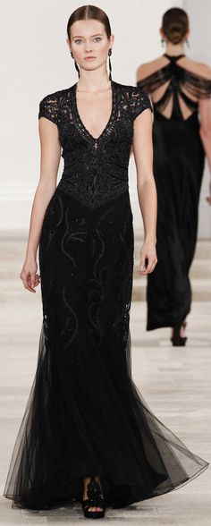 Ralph Lauren Spring Summer 2013 Ready-to-Wear  Evening Gown ♥✤