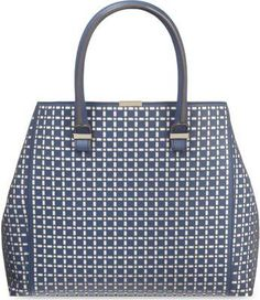 Victoria Beckham - perforated leather tote