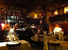 Cozy interior of le Tastevin 4 1/2 stars out of 5 for Escargot in Paris!