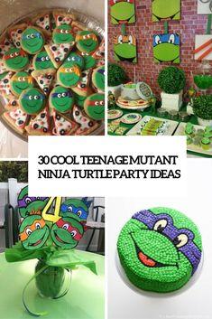 cool teenage mutant ninja turtle party ideas cover