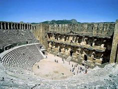 13 striking places you must see | Aspendos is an old archaic city with its famous amphitheater. It ...