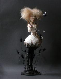 art dolls by Feltoohlala.