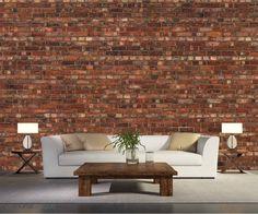 Vieux Mur de Briques | Mural Unique