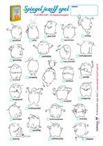 24 eigenschappen Emoticon, Word Search, Coaching, Drama, Math Equations, Words, Craft Ideas, Smiley, Training