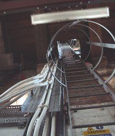 looking up first ladder of Parish Church of St Paul, Heaton Moor, Stockport | Flickr: Intercambio de fotos
