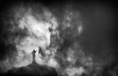 La statua del Cristo Redentore a Rio de Janeiro. (Dean Mouhtaropoulos/Getty Images)