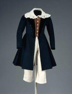 Boy's suit, 1837 United States (Charlestown, Mass), MFA Boston