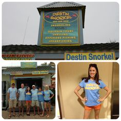 Destin Snorkel is the place to be if you want to get up close and personal with sea life.  #Travel #Florida #Vacation