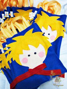 ameiiii essas sacolinhas para colocar as lembrancinhas da festa!!! Tema: Pequeno Príncipe