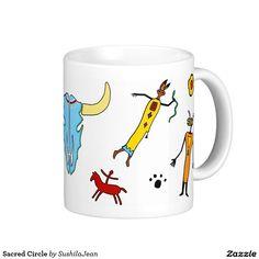 Sacred Circle Classic White Coffee Mug
