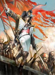 f Pirate capngrimbeard: creaturesfromdreams: England Expects… by A powerful lass who seems t' be English can make a dreadfully amazing an' beautiful camp! Though I think she looks a might bit French! Pirate Queen, Pirate Art, Pirate Woman, Pirate Life, Lady Pirate, Character Concept, Character Art, Character Design, Fantasy Characters