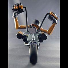 "Speed Freaks Collectibles | SPEED FREAKS \""MATT\"" HARLEY CHOPPER Terry Ross Design"
