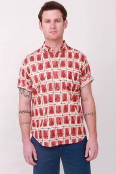 Brick Summer Sails Short Sleeve Shirt by Reyn Spooner