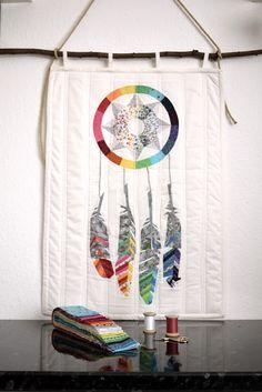 Retro.Frischling:  Dreamcatcher Quilt von Sarah Sharp