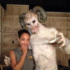 """Lyndie Greenwood as Jenny Mills from the TV Show """"Sleepy Hollow"""". 'YIKES"""""""
