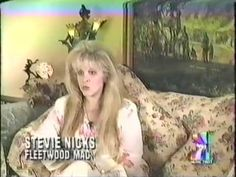 an interesting Stevie interview ~  VH1 Presents The Seventies August 20th, 1996; a rare interview with Stevie about life in Fleetwood Mac in the 1970s, recorded in 1996 for VH1 Presents The Seventies series of Specials which aired August 20th and 21st, 1996. Stevie is hilarious in parts, as she can often be ~  ☆♥❤♥☆   ~    https://youtu.be/Zk3gbi9p9PY