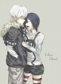 Tokyo Ghoul. I ship them :)