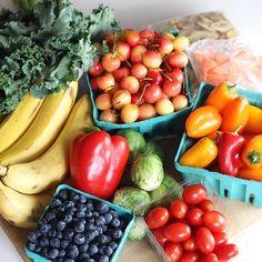 FRUIT HAUL! Love the farmers market on saturday!