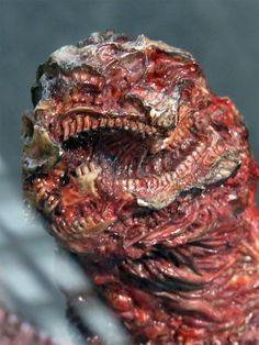 The tail of Godzilla from SHIN GODZILLA 2016.デカミント@シン・ゴジラ絶賛公開中 on