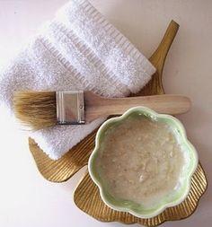 mascarilla de miel yogur y avena