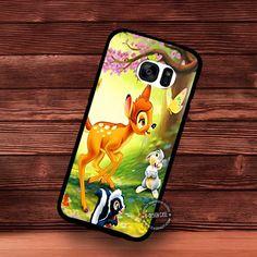 Deer Bambi Walt Disney Cartoon - Samsung Galaxy S7 S6 S5 Note 7 Cases & Covers