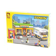 Oxford Lego Style Block Toy ST3338- Town Series Convenience Store