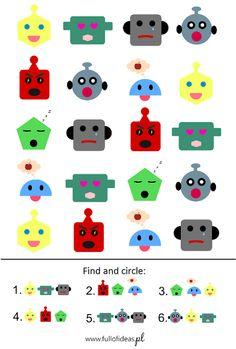 Word search w wersji dla przedszkolaków