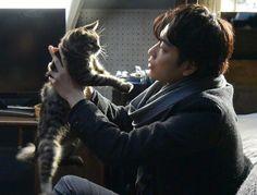 "[Trailer] https://www.youtube.com/watch?v=CGZLrzH28DM  [Trailer, Official site] http://www.sekaneko.com/    Takeru Satoh x Aoi Miyazaki, J LA movie ""Sekai kara Neko ga Kieta nara (If A Cat Disappears From The World)"". Release:May/14/16  [Plot] http://asianwiki.com/If_Cats_Disappeared_From_the_World"