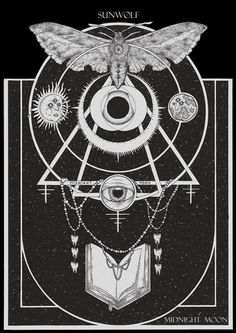 Fine occult art forged by Adrian Baxter. Our... in Illustration