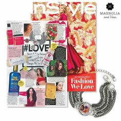 Fall in Love with our best-selling Artisan Chain Bracelet and Snaps featured InSTYLE's tipsntrends. #magandvinestyle #love #tipsntrends #shoptoday https://www.mymagnoliaandvine.com/dury/shop/catalog.aspx