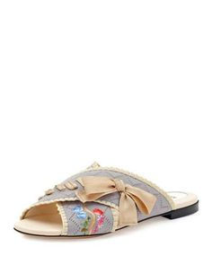 Jersey slip-on sandals Fendi GpIJA