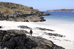 Scottish beach - lovely. Checkout Scotland Made Easy - we will be delighted to help you discover!