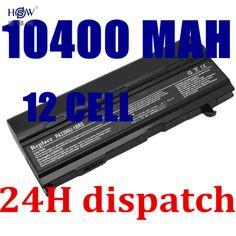HSW 12CELLs Battery For Toshiba Tecra A3 A4 A5 A6 A7 S2 PA3399U PA3399U-1BAS PA3399U-1BRS PA3399U-2BAS PA3399U-2BRS PABAS076 #Affiliate