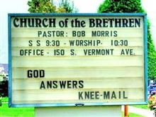 God Answers Knee-Mail