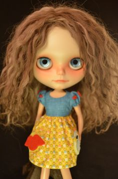 Custom Blythe Scalp Reroot in Brown by pariszhenpink on Etsy, $175.00