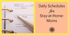 Focus more on having a routine than following a schedule. Children are comforted by routine. A schedule may work for two days until your ba...