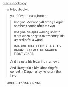 Harry Potter - McGonagall, Hagrid and Harry Harry Potter Feels, Harry Potter Universal, Harry Potter Fandom, Harry Potter Tumblr Funny, Scorpius And Rose, Must Be A Weasley, Severus Rogue, Severus Snape, Draco Malfoy