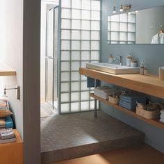 Une cloison en verre c'est de la luminosité en plus et un effet décoratif, découvrez-les!