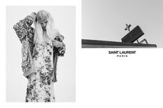 El grunge de Saint Laurent ya tiene campaña Primavera/Verano 2016