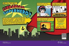 Nominate a colleague or yourself as a Librarian Superhero in this contest. Library Programs, Best Blogs, Conte, Dares, Book Lovers, Book Art, Classroom, Librarians, Reading