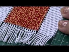 Ponto roseta hardanger | Cantinho do Video